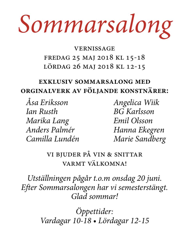 Sommarsalong 2018